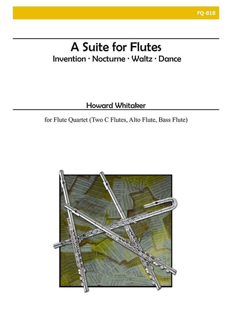 Whitaker - Suite for Flutes - FQ818