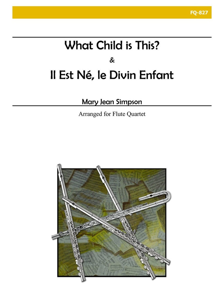 Simpson - Il Est Ne, Le Divin Enfant/What Child Is This? - FQ827