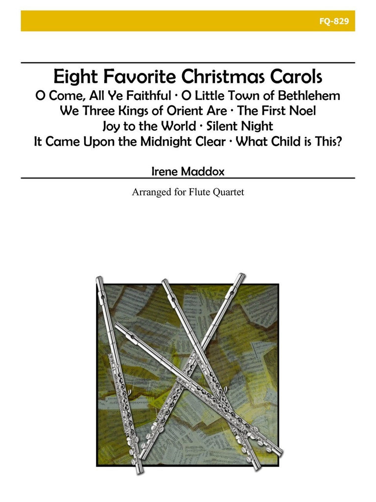 Maddox - Eight Favorite Christmas Carols - FQ829