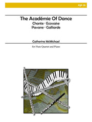 McMichael - The Academie of Dance (Four Flutes and Piano) - FQP25