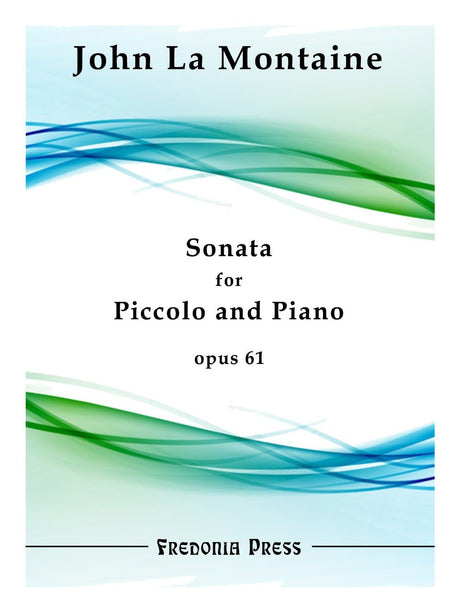 La Montaine - Sonata for Piccolo and Piano, Op. 61 - FRD01