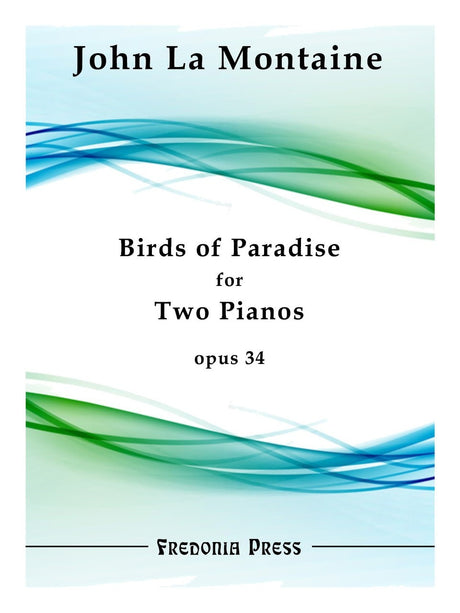 La Montaine - Birds of Paradise (Piano Duet) - FRD08