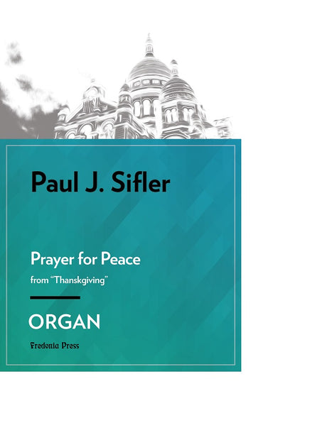 Sifler - Prayer for Peace for Organ - FRD120