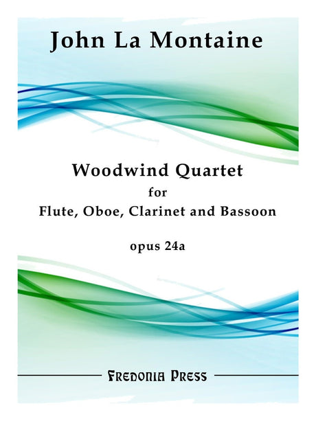 La Montaine - Woodwind Quartet, Op. 24a - FRD12