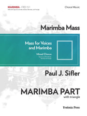 Sifler - Marimba Mass - Marimba Part ONLY - FRD151