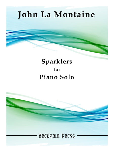 La Montaine - Sparklers for Piano Solo - FRD16