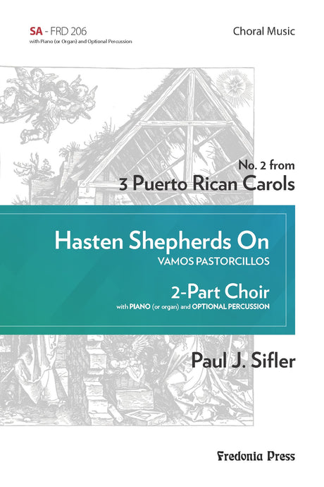 Sifler - Hasten Shepherds On for SA Choir and Piano - FRD206