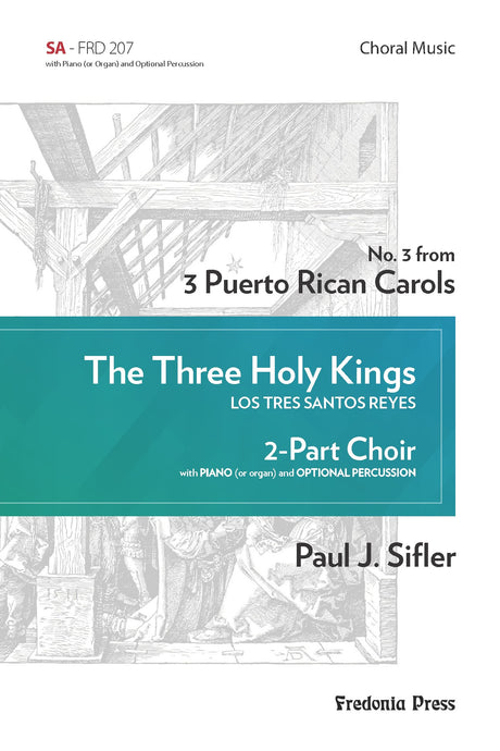 Sifler - The Three Holy Kings for SA Choir and Piano - FRD207