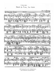 La Montaine - Sonata for Piano, Four Hands, Op. 25 - FRD23