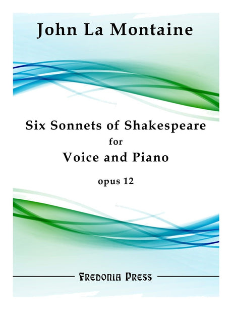 La Montaine - Six Sonnets of Shakespeare, Op. 12 - FRD24