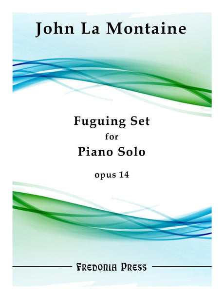 La Montaine - Fuguing Set for Piano Solo, Op. 14 - FRD26