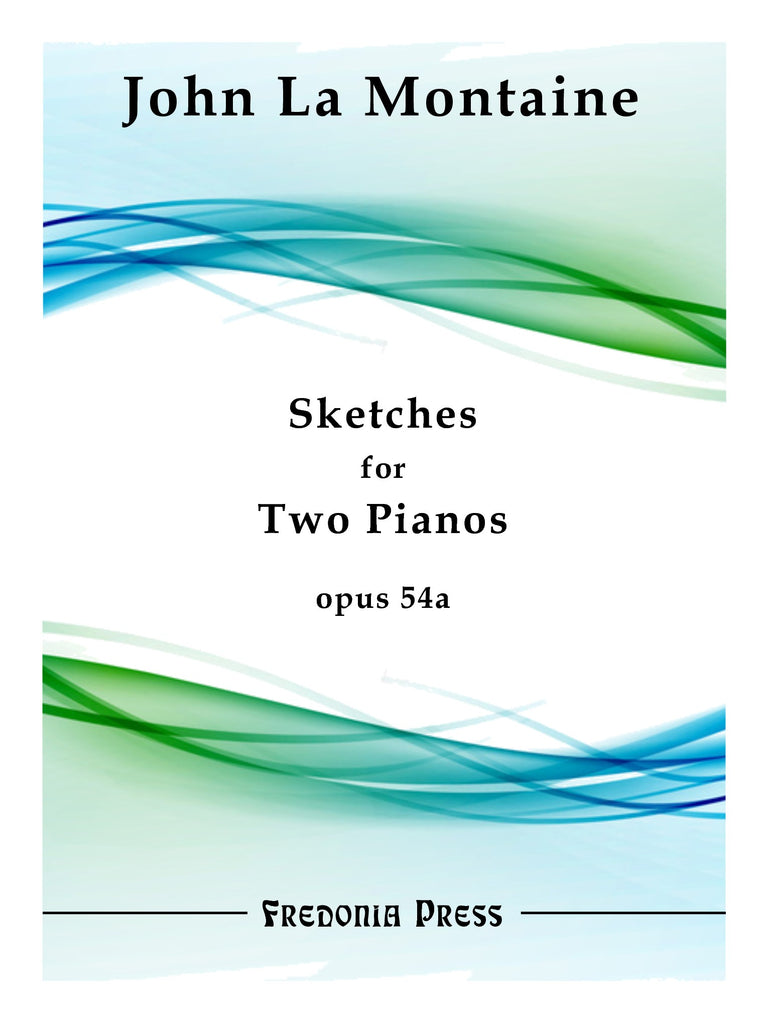 La Montaine - Sketches for Two Pianos, Op. 54a - FRD31