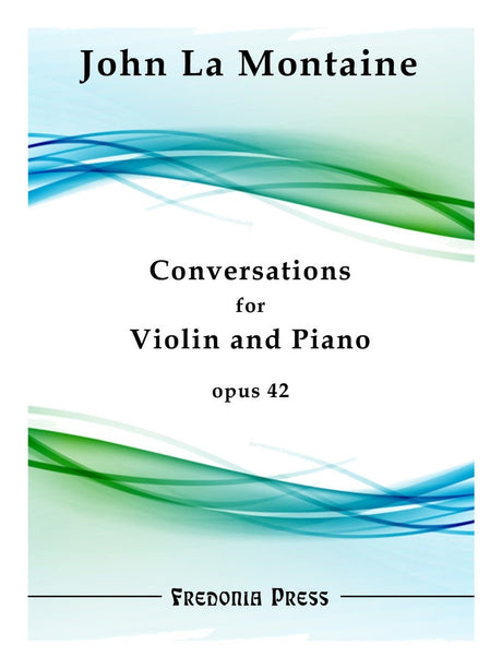 La Montaine - Conversations for Violin and Piano, Op. 42 - FRD41