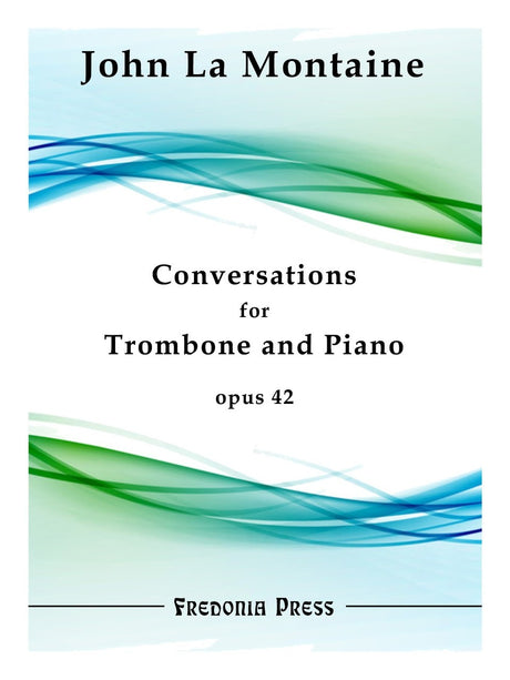 La Montaine - Conversations for Trombone and Piano, Op. 42 - FRD44