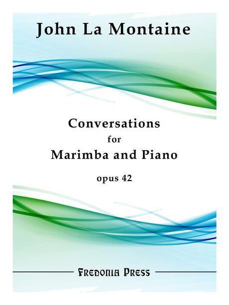 La Montaine - Conversations for Marimba and Piano, Op. 42 - FRD45