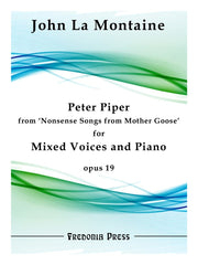 La Montaine - Peter Piper from 'Nonsense Songs from Mother Goose', Op. 19 - FRD56