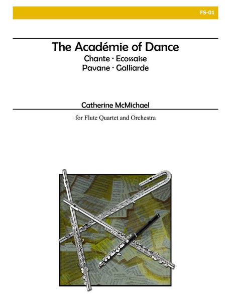 McMichael - The Academie of Dance (Four Flutes and Orchestra) - FS01