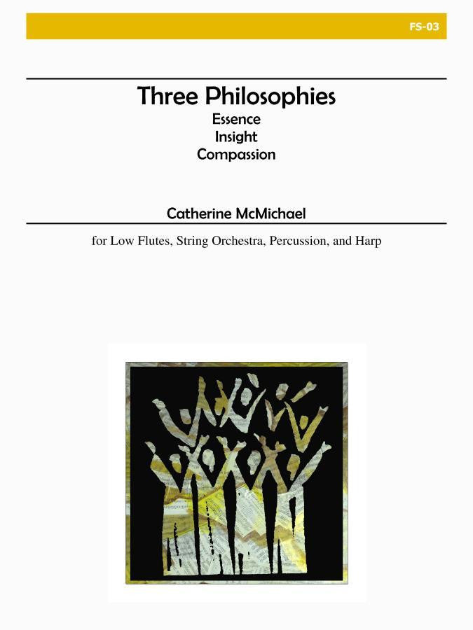 McMichael - Three Philosophies (Flute and Orchestra) - FS03