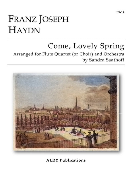 Haydn (arr. Saathoff) - Come Lovely Spring (Flutes and Orchestra) - FS14