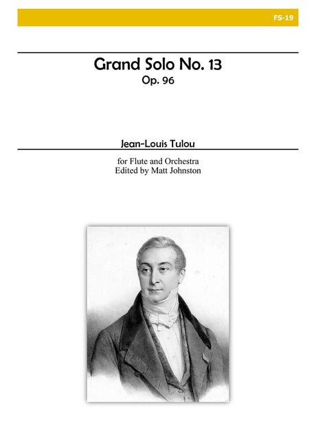 Tulou (ed. Johnston) - Grand Solo No. 13 (Solo Flute and Orchestra) - FS19
