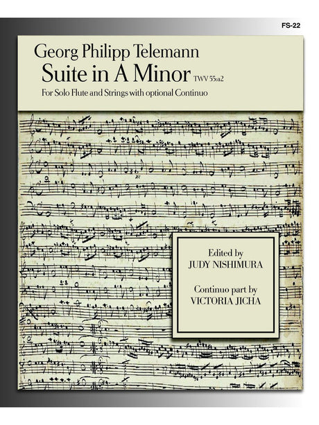 Telemann (ed. Nishimura) - Suite in A Minor (Solo Flute and Strings) - FS22