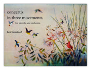 Benshoof - Concerto in Three Movements for Piccolo and Orchestra (Rental) - FS24