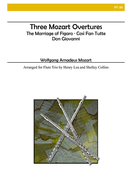 Mozart (arr. Collins) - Three Mozart Overtures - FT30