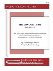 Haydn (arr. Long) - The London Trios (Low Flutes) - FT32