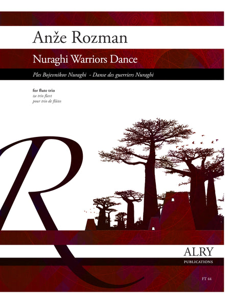 Rozman - Nuraghi Warriors Dance for Flute Trio - FT44