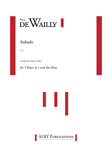 De Wailly (arr. Collins) - Aubade for Flute Trio - FT57