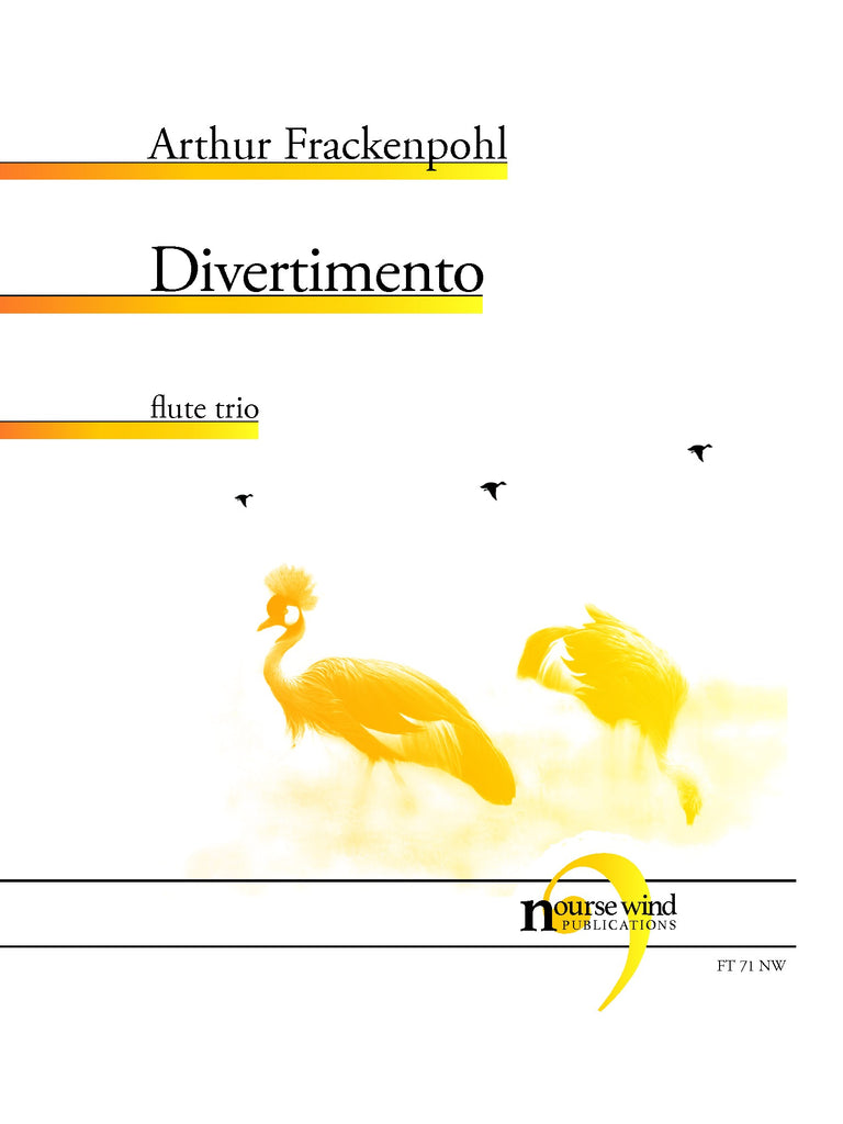 Frackenpohl - Divertimento for Flute Trio - FT71NW