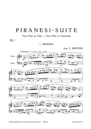 Baeyens - Piranesi Suite for Flute and Cello - FVC4457EM