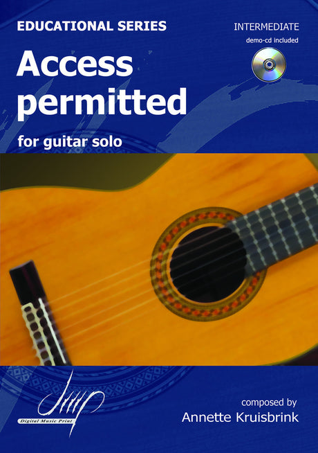 Kruisbrink - Access Permitted for Guitar - G109121DMP