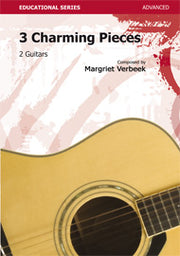 Verbeek - 3 Charming Pieces for Guitar - G117023DMP
