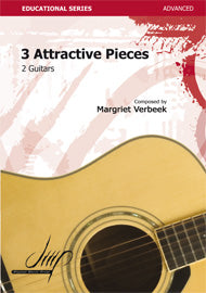 Verbeek - 3 Attractive Pieces for Guitar - G117124DMP