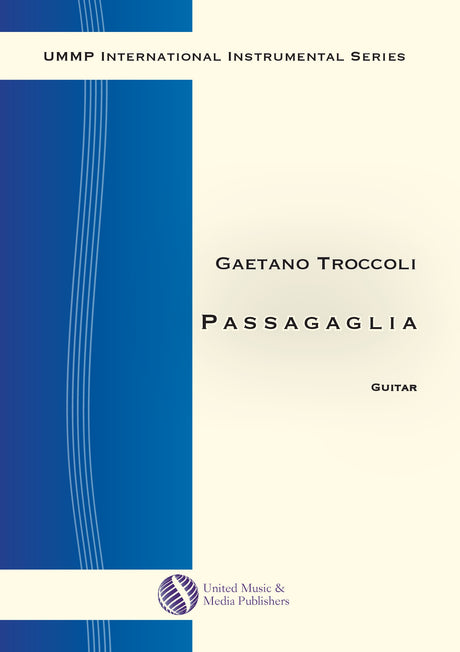 Troccoli - Passacaglia for Guitar - G200104UMMP