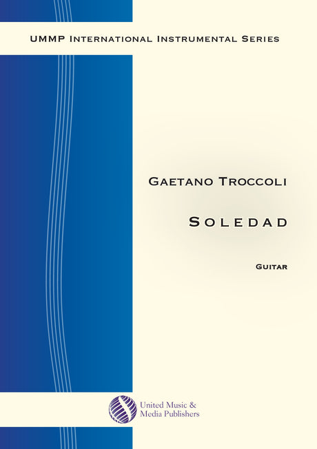Troccoli - Soledad for Guitar - G200106UMMP