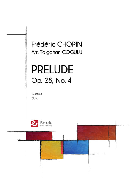 Chopin (arr. Cogulu) - Prelude Op. 28, No. 4 for Guitar - G3499PM