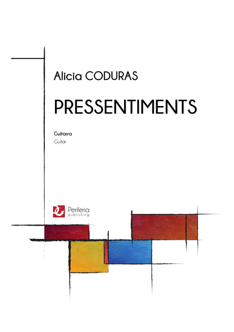 Coduras - Pressentiments for Guitar - G3543PM