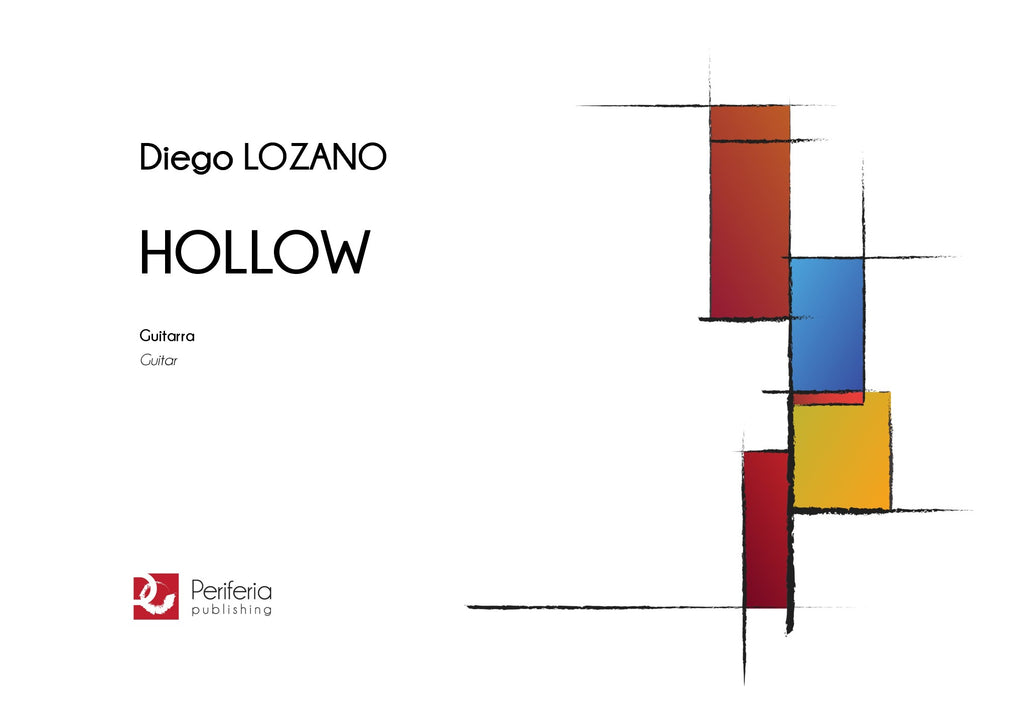 Lozano - Hollow for Guitar - G3658PM