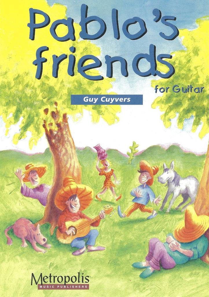 Cuyvers - Pablo's Friends - 1 (Book & cd) - G6004EM