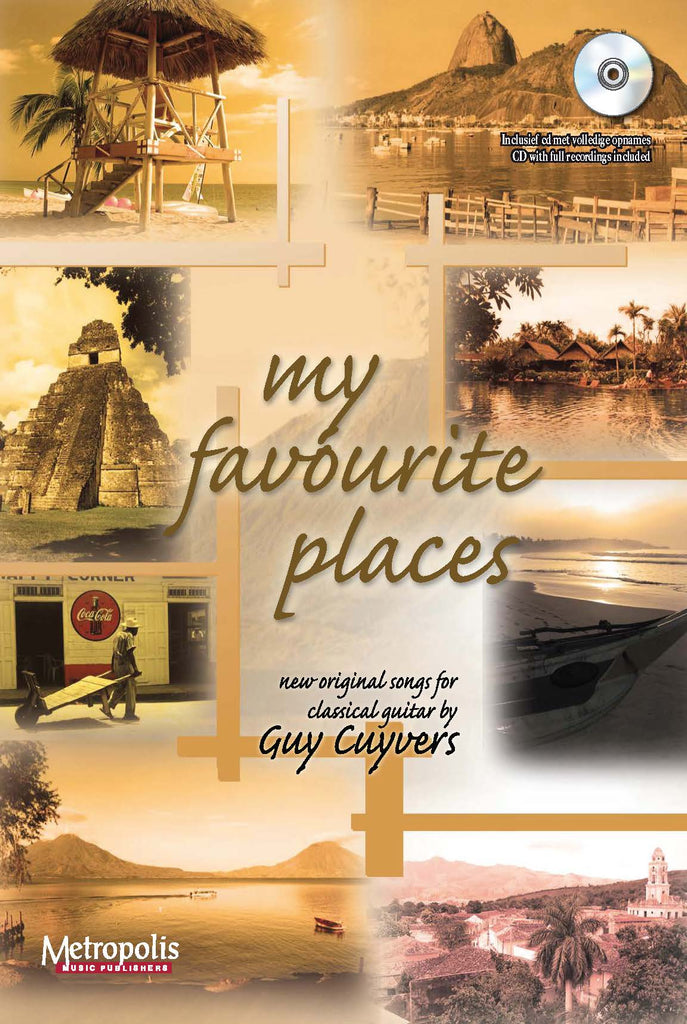 Cuyvers - My Favourite Places for Guitar - G6161EM