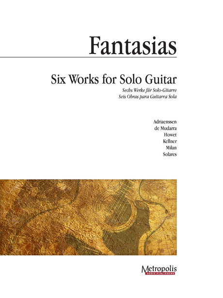 Album (arr. Van Puijenbroeck) - Fantasias: Six Works for Solo Guitar - G7362EM