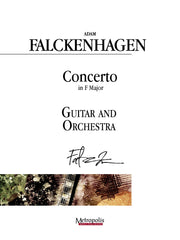 Falckenhagen (arr. Van Puijenbroeck) - Concerto in F Major for Guitar and Orchestra - GOR14016AEM