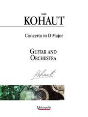 Kohaut (arr. Van Puijenbroeck) - Concerto in D Major for Guitar and Orchestra - GOR14022AEM
