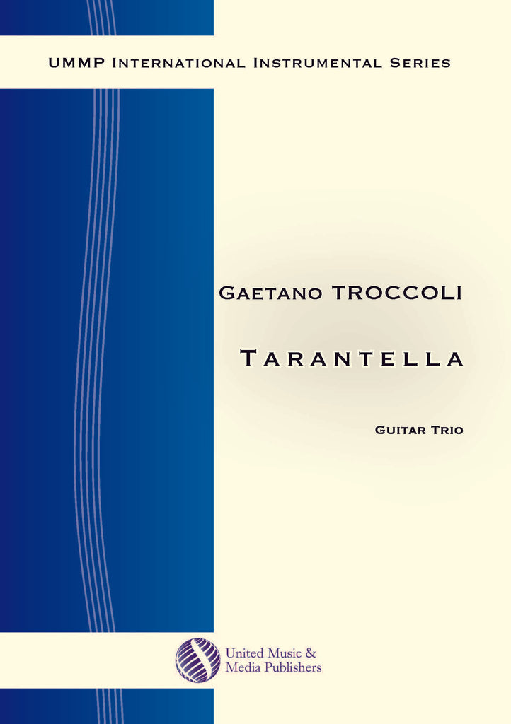 Troccoli - Tarantella for Three Guitar - GT170506UMMP