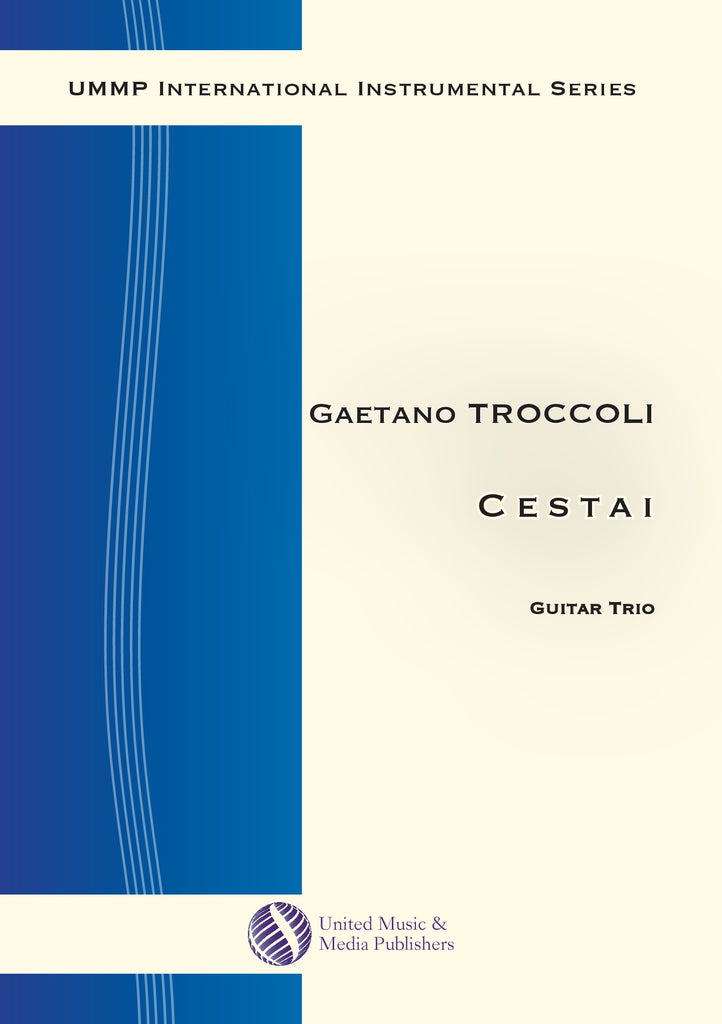 Troccoli - Cestai for Three Guitars - GT180308UMMP