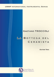 Troccoli - La bottega del ceramista for Three Guitars - GT180312UMMP