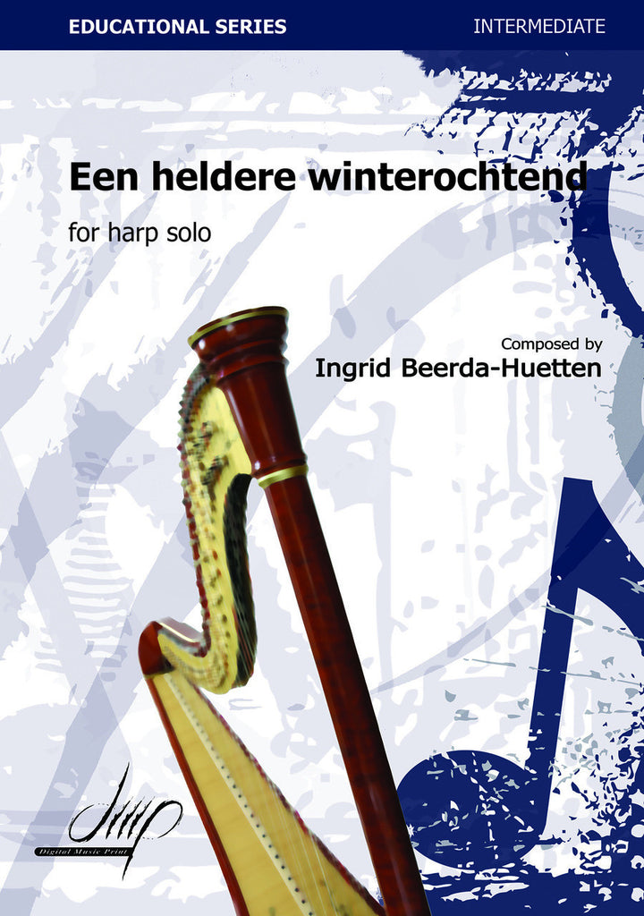 Beerda-Huetten - Een heldere winterochtend (A Bright Winter Morning) - H110141DMP