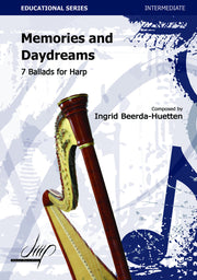 Beerda-Huetten - Memories and Daydreams for Harp - H112106DMP
